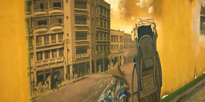【台南火車站】台南地下街通道所孕育的彩繪文化牆