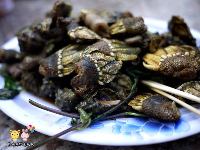 【金門特色菜】王阿婆與大廟口海鮮炒佛手比較
