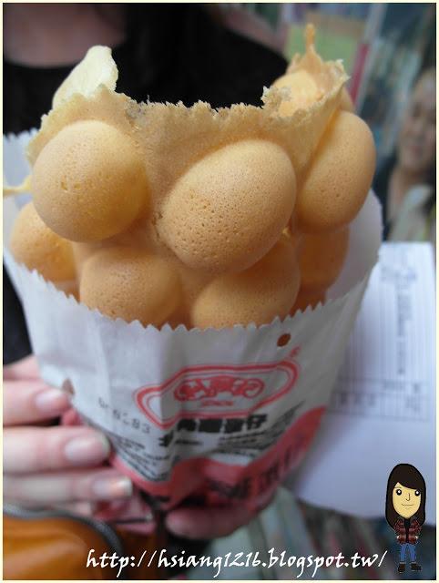 【香港美食】北角站利強記雞蛋仔。董小湘