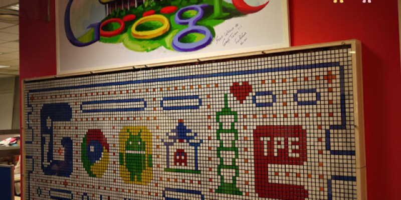 【Google藝術牆】結合台北101在地文化的驕傲