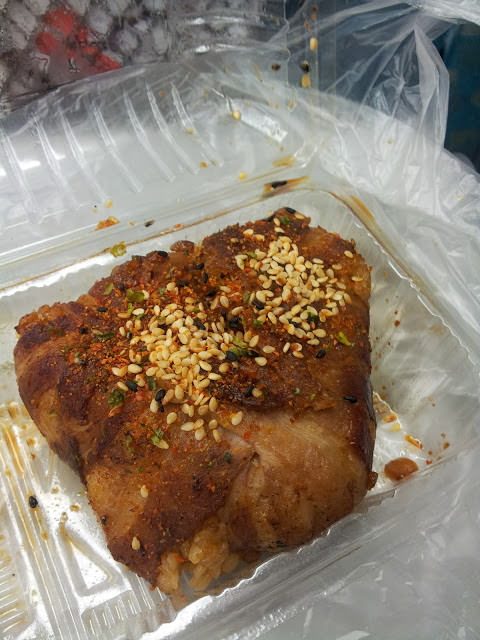 【高雄夢時代】北海道百貨-好肥美的豬肉捲飯糰
