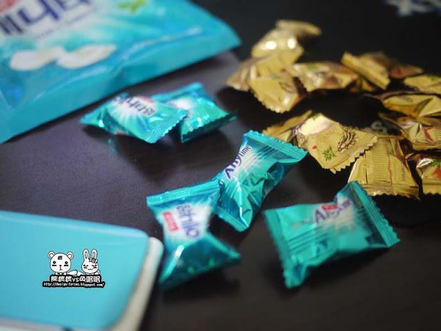 【韓國美食】清涼剔透的AnyTime糖果-汽水薄荷