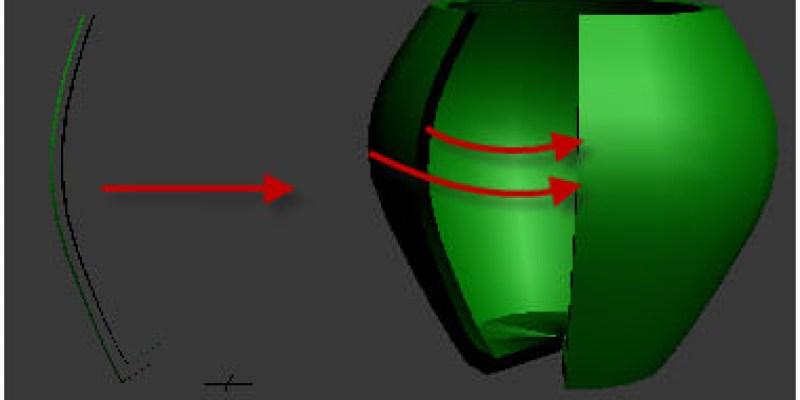 【3D MAX教學】Lathe修改器