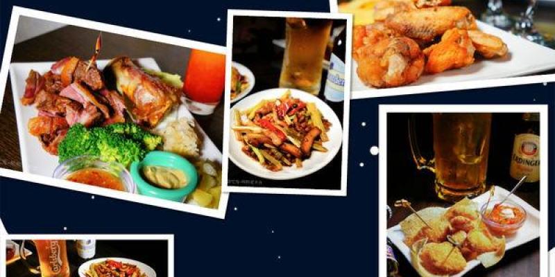 高雄美食 左營區/燈塔美式酒館~一起與外國朋友們感受美式氛圍吧