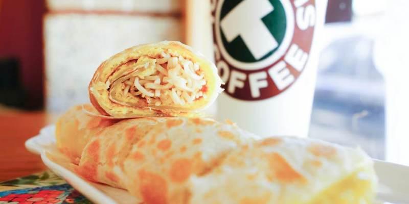 高雄美食 早午餐-三民區/蛋餅先生-超酷口感好神奇的泡麵蛋餅