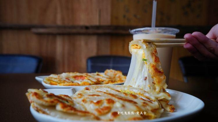 高雄三民早餐 萬川早餐店-外酥內軟不油膩粉漿蛋餅