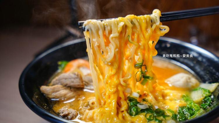 高雄鍋燒麵  百年老店鍋燒意麵建工店-柴魚熬煮高湯,好喝的令人回味