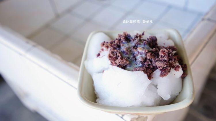 美濃美食 東門冰菓室-柑仔店內的香蕉冰,樸實不過甜