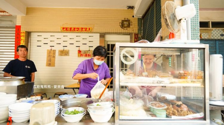 高雄陽春麵 阿好小琉球古早味麵店-肉燥香色香味俱全的乾麵乾粄條