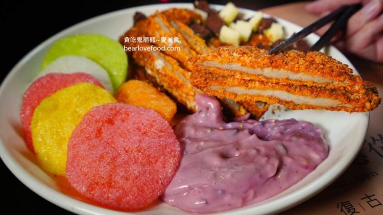 高雄前鎮區美食 懷念從前復古概念餐廳-創意台菜料裡