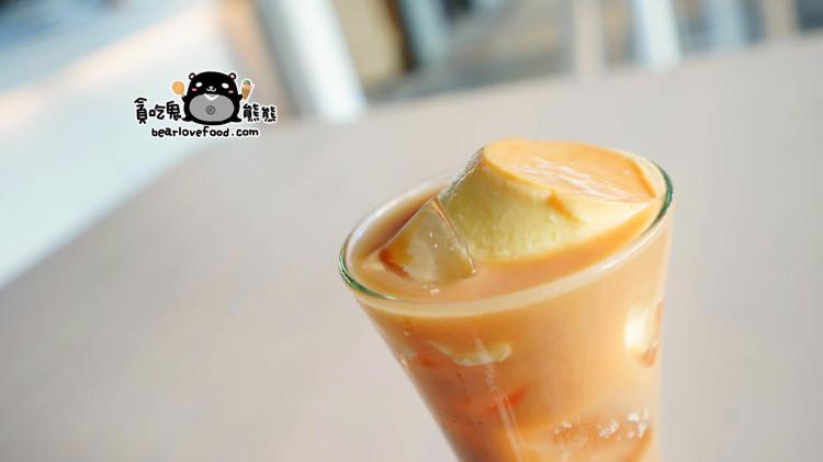 高雄飲料 一壺青茶飲-高牧鮮奶與義美布丁使用中,重內涵的茶飲