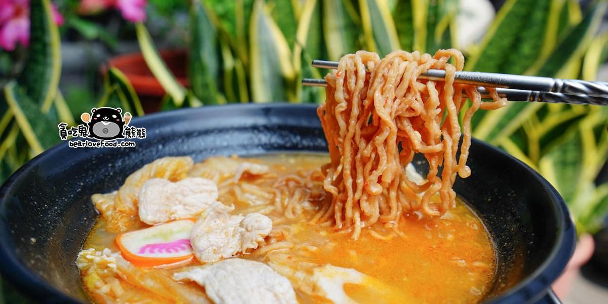 高雄三民區鍋燒麵 永年街鍋燒麵-必吃自製泡菜白肉鍋燒意麵
