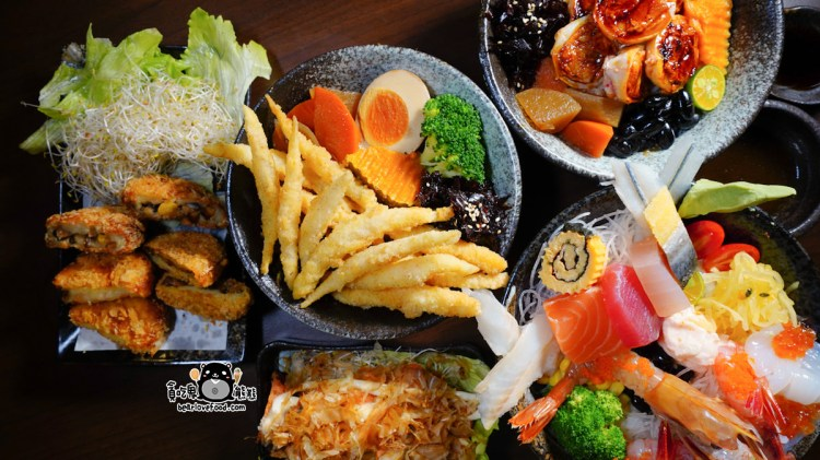 高雄楠梓區美食 竹丼屋-適合全家人用餐的專業日式丼飯專賣店