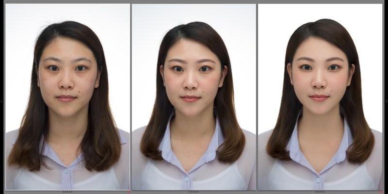 高雄證件照 大頭大頭拍照不愁證件照拍攝-專業髮妝攝影修圖,多種方案選擇,當天拍當天拿照片