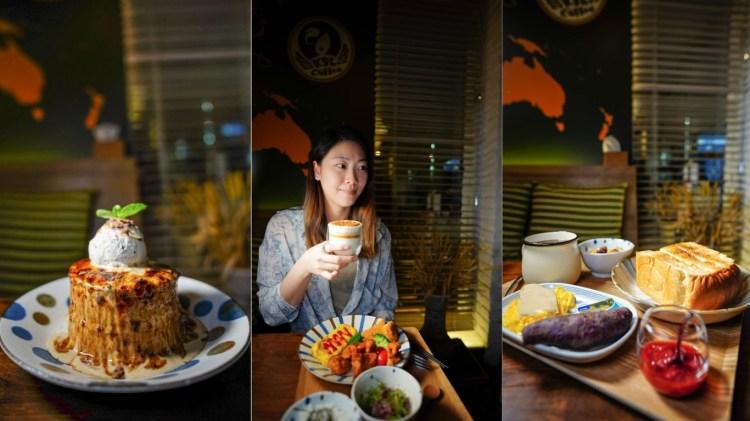 鳳山美食 KSL Coffee-青年路二段咖啡飲料早午餐定食日式厚鬆餅