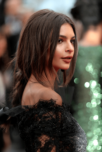 emily ratajkowski hair at cannes