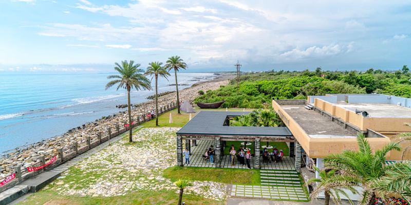【宜蘭】。頭城濱海森林公園 IG熱點八角瞭望台 @宜蘭海邊龜山島