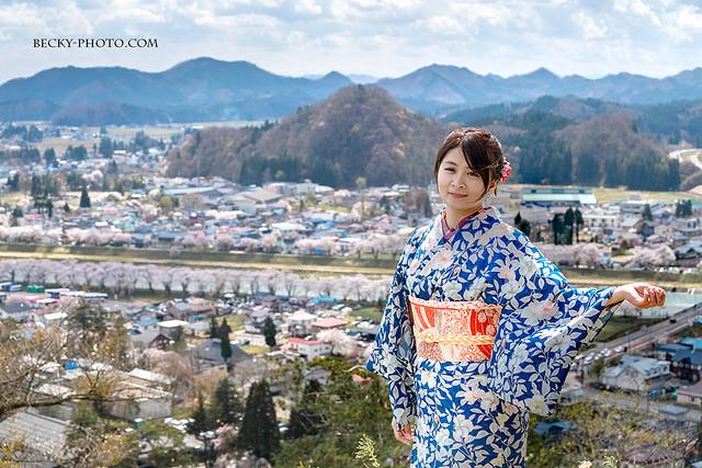 【日本】。秋田角館和服體驗『たてつ家』東北櫻花季