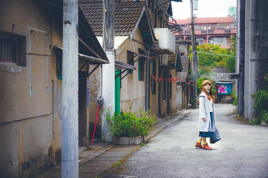 【桃園】。電視劇取景地 憲光二村!有盪鞦韆、老房子眷村 人像超好拍照