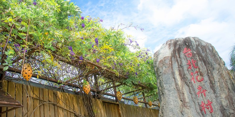 【台北】。大都市裡的小花園~紫藤花園藝.社子島單車棧.小朋友的氣墊樂園