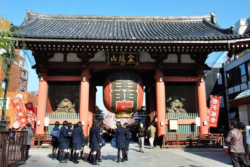 不會說日文之第1次【日本。東京自由行/5 Day】:12/1 淺草雷門寺之回台灣慢遊記