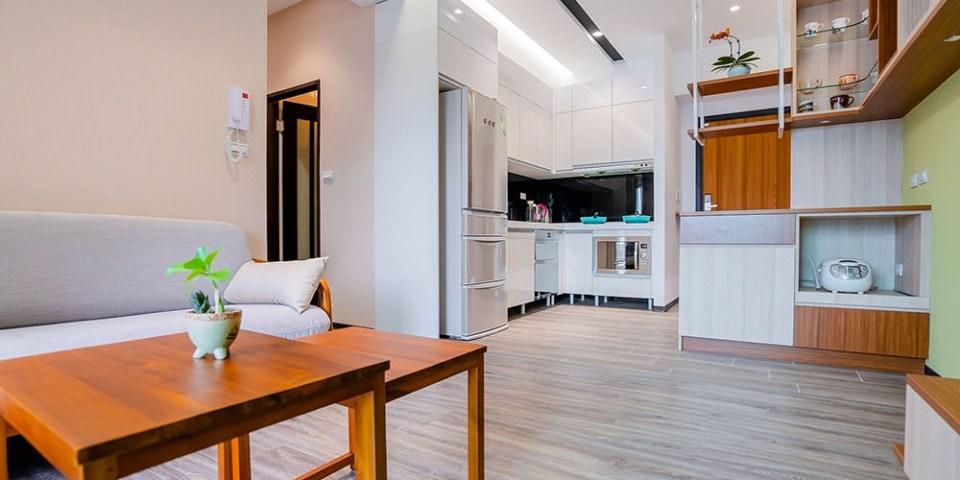 【台南室內設計】森鼎室內空間設計 60萬小資室內設計裝潢 小資首選室內設計 完工後一年保固 台南裝潢實例