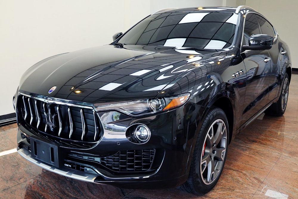 【台南汽車鍍膜】Moore摩爾車體防護|Maserati Levante鍍膜分享|前擋玻璃鍍膜$1500 送基礎洗車|ArtdeShine石墨烯橡膠型鍍膜
