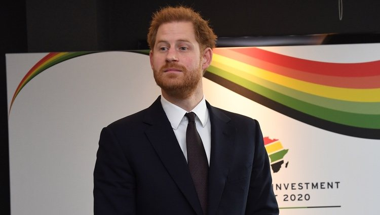 Prince Harry at the UK-Africa Investment Summit