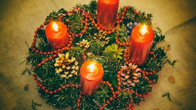 La historia de la corona de Adviento - Bekia Navidad