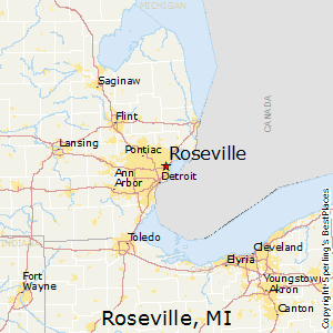 Best Places To Live In Roseville Michigan