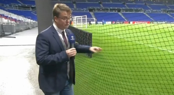 Safety nets at Groupama Stadium