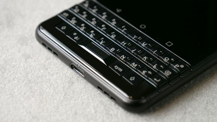 The BlackBerry KEYone Black Edition