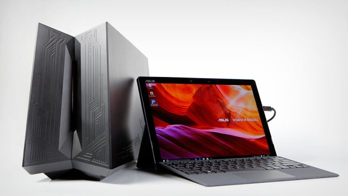 Asus Transformer 3 Pro T303UA and XG ROG Station