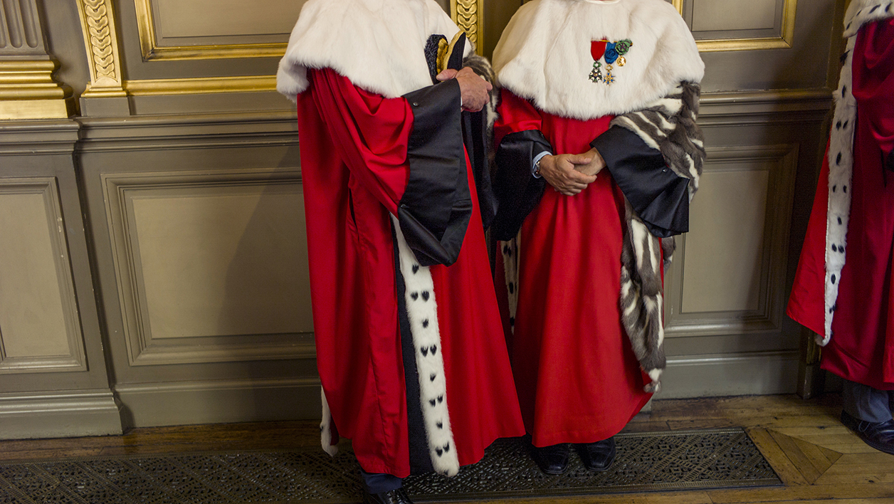 Des magistrats de la Cour de cassation (photo d'illustration)
