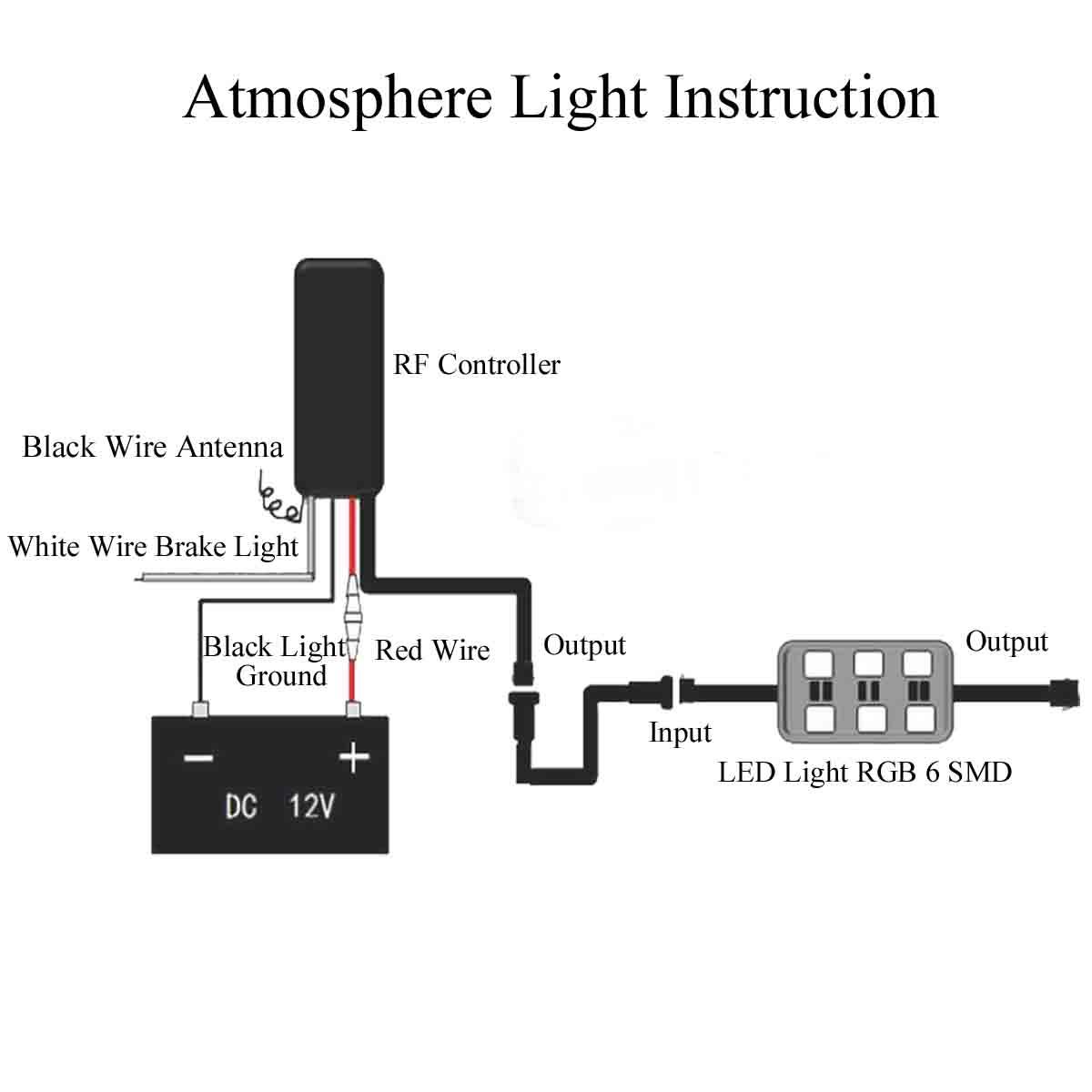 Rgb Atmosphere Lamps Wiring Diagram