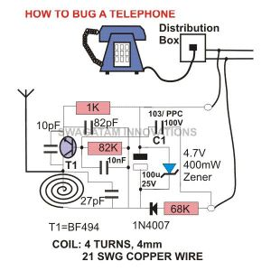 How to Bug a Telephone or Record? Bugging Devices, Equipment