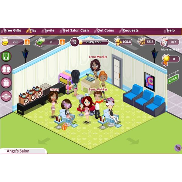 Nail Salon Games And Hair Salon Games