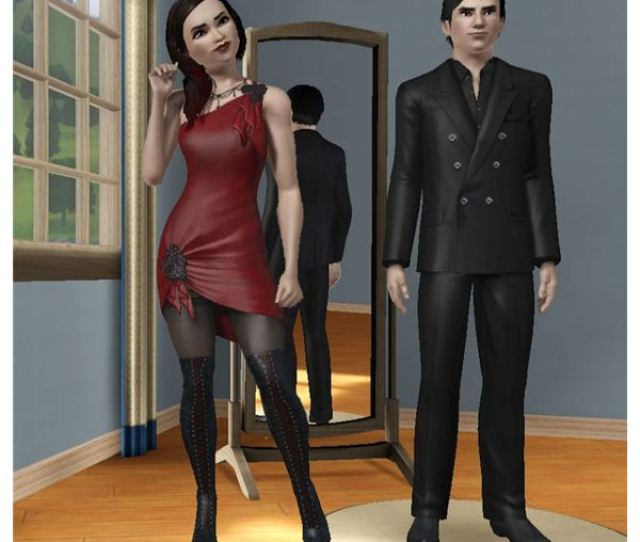 Go Goth Or Sexy With The Sims  Vampire Clothes
