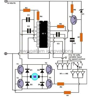 How to Build a High Torque DC Motor Speed Controller Circuit