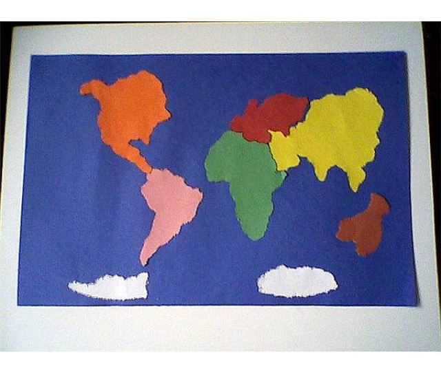 Hands On Activities For The Seven Continents For Young Elementary