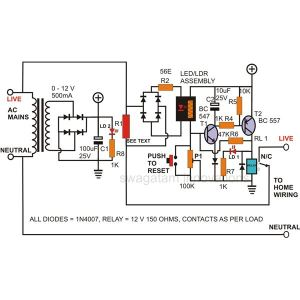 How to Build a Simple Circuit Breaker Unit?