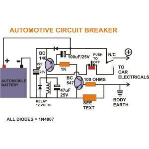 How to Build a Smart Automotive Circuit Breaker? A