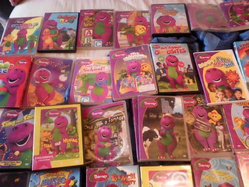 Wholesale Amp Bulk Lots BARNEY DVD COLLECTION 37 TITLES