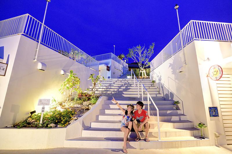 沖繩,瀨長島,Umikaji Terrace,旅遊