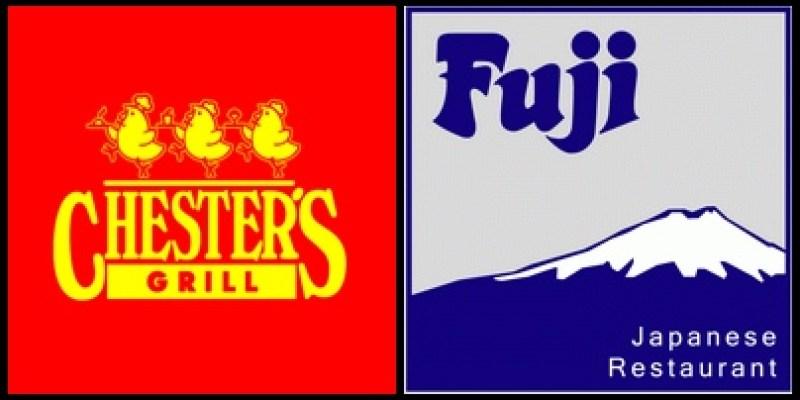 【泰國品牌連鎖餐廳】第1彈 -- 泰國版的頂呱呱 CHESTER`S GRILL vs 好吃又平價的日本料理 Fuji