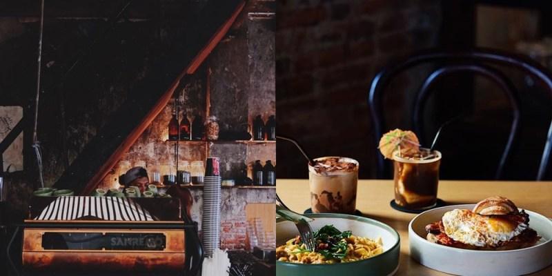 【曼谷美食】曼谷最強人氣咖啡店Sarnies Bangkok,150年前廢墟老屋改建,歷史痕跡結合工業風,拍照簡直太美