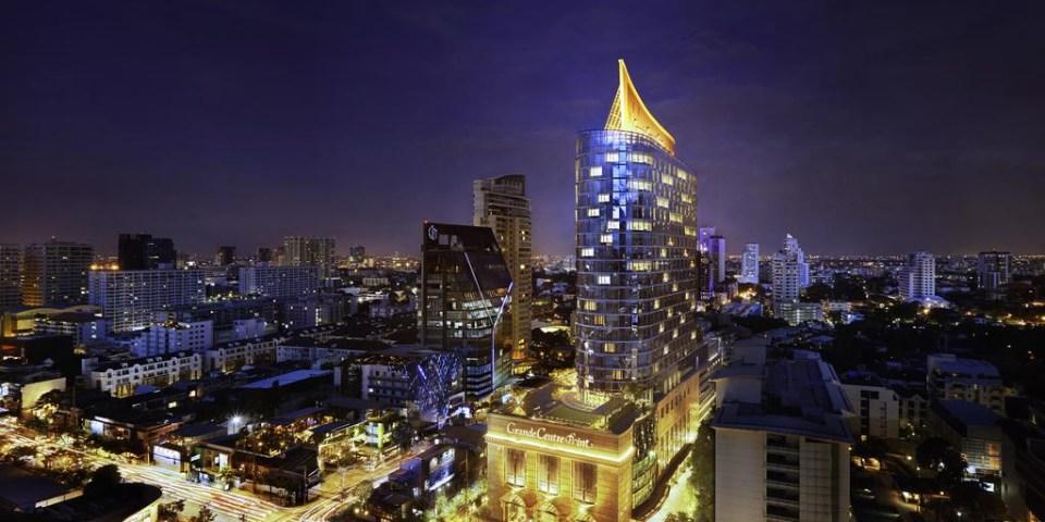 【ASQ入境泰國隔離住宿】Grande Centre Point Sukhumvit 55五星級飯店:11 天 10 夜隔離住宿套餐