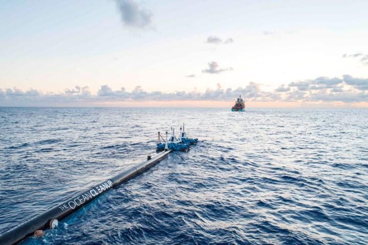 The Ocean Cleanup quiere limpiar el océano