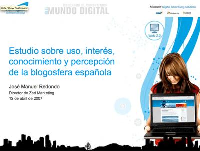 Estudio sobre blogs Zed Digital