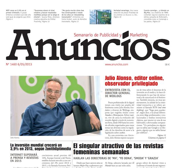 Entrevista en Anuncios